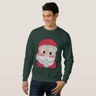 emoji mannen sweatshirt van de Kerstman