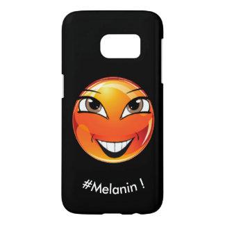 "Emoji ""Melanine!"" door ReneeAB9 Samsung Galaxy S7 Hoesje"