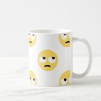 emoji oog het rollen koffiemok