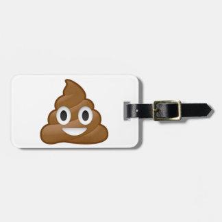 Emoji van het achterschip bagagelabel