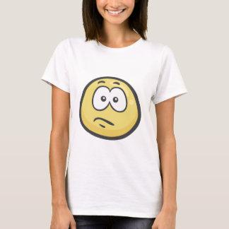 Emoji: Verward Gezicht T Shirt