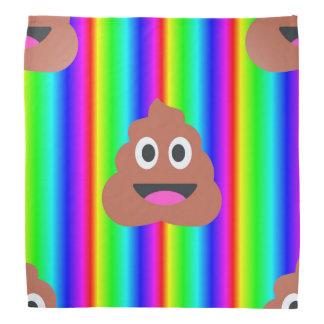emojibandana van het regenboogachterschip bandana
