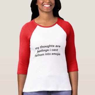Emojinal T Shirt