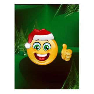 emojis van de Kerstman Briefkaart