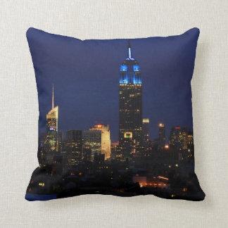 Empire State Building allen in Blauw, Horizon NYC Sierkussen