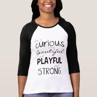 Empowerment van de vrouw is zij Sterke Krachtig T Shirt