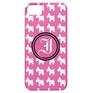 Empowerment (Westies) Monogram Barely There iPhone 5 Hoesje