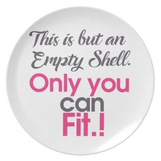 empt shell bord
