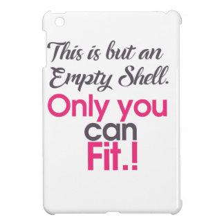 empt shell iPad mini hoesjes