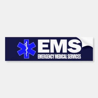 EMS - Medische hulp bij noodgevallen Bumpersticker