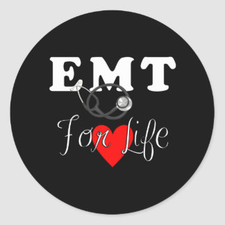 EMT voor het Leven Ronde Sticker