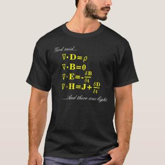En de God gaf de Vergelijkingen… T Shirt