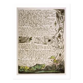 """""""En de wolken & de branden…"""", plateren 14 van Briefkaart"""