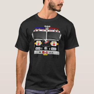 En Motor die van de brand komen de gaan T Shirt