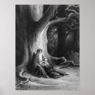 Enchanter Merlin en de Fee Vivien Poster