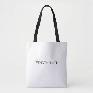 #EndTheHate helemaal over - het Canvas tas van de