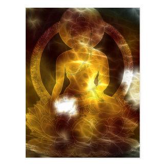 Energie 4 van Boedha Briefkaart