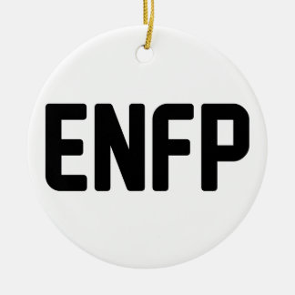 ENFP ROND KERAMISCH ORNAMENT