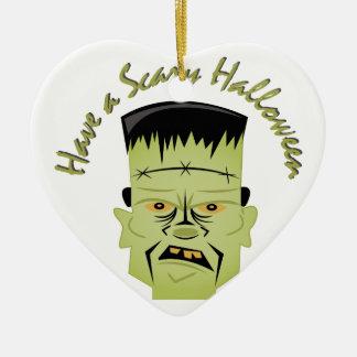 Eng Halloween Keramisch Hart Ornament