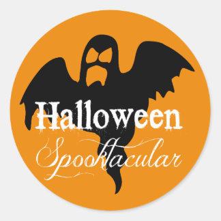 Eng Spook Halloween Spooktacular Ronde Stickers