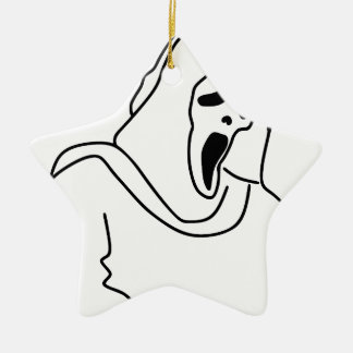 Eng Spook Keramisch Ster Ornament