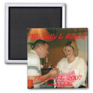 engagement001, Michelle & Robert, 11 Augustus, 20… Magneet