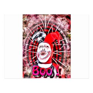 enge clown briefkaart