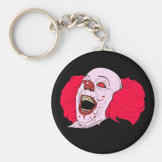 enge clown keychain sleutelhanger