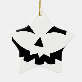 Enge Pompoen Keramisch Ster Ornament