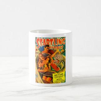 Enge twee-Geleide RuimtePaling Koffiemok