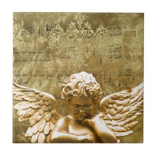 Engel #2 keramisch tegeltje