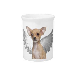 Engel Chihuahua Drank Pitcher