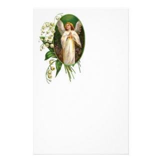 Engel die in een Tuin bidt Briefpapier Papier