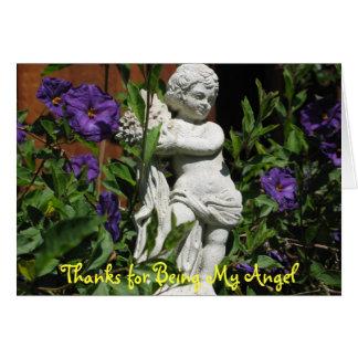 Engel in de tuin briefkaarten 0