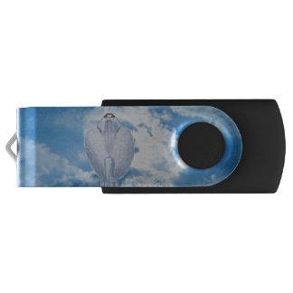 Engel in de wolken swivel USB 2.0 stick