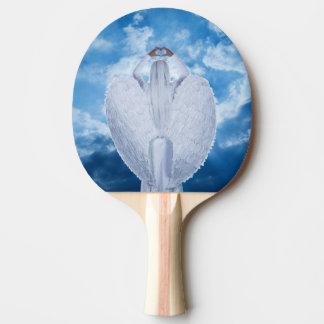 Engel in de wolken tafeltennis bat