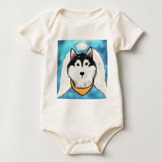 Engel Malamute Van Alaska Baby Shirt