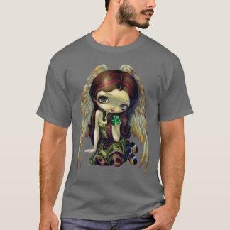 Engel met fee van het OVERHEMD van Smaragden de T Shirt