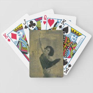 Engel met Harp Poker Kaarten