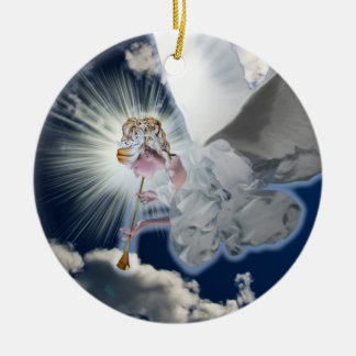 Engel met het Ornament van de Trompet