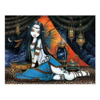 Engel Poscard van de Fee van Santha de Hemel Briefkaart