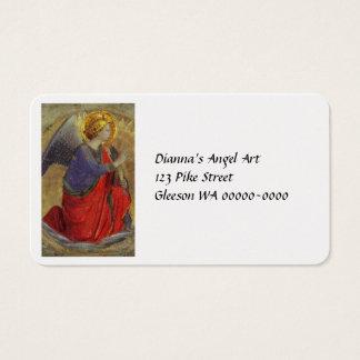 Engel van Aankondiging door Fra Angelico Visitekaartjes