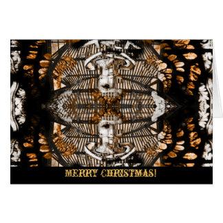 Engel van Kerstmiswenskaart Briefkaarten 0