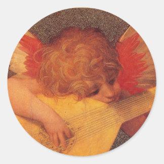 Engelachtige Musicus - Sticker