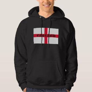 Engeland op Engelse Vlag Hoodie