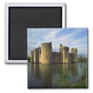 Engeland, Sussex, Kasteel Bodiam Vierkante Magneet