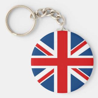 Engeland Union Jack/Britse Vlag Keychain Sleutelhanger