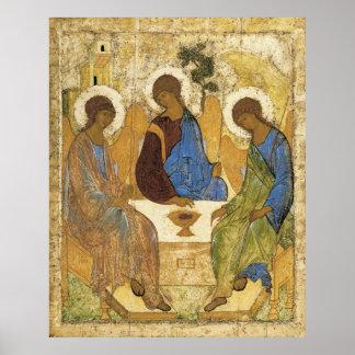 Engelen bij Drievuldigheid Mamre Poster