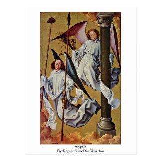 Engelen door Rogier van der Weyden Briefkaart