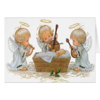 Engelen in de Kaart van de Trog